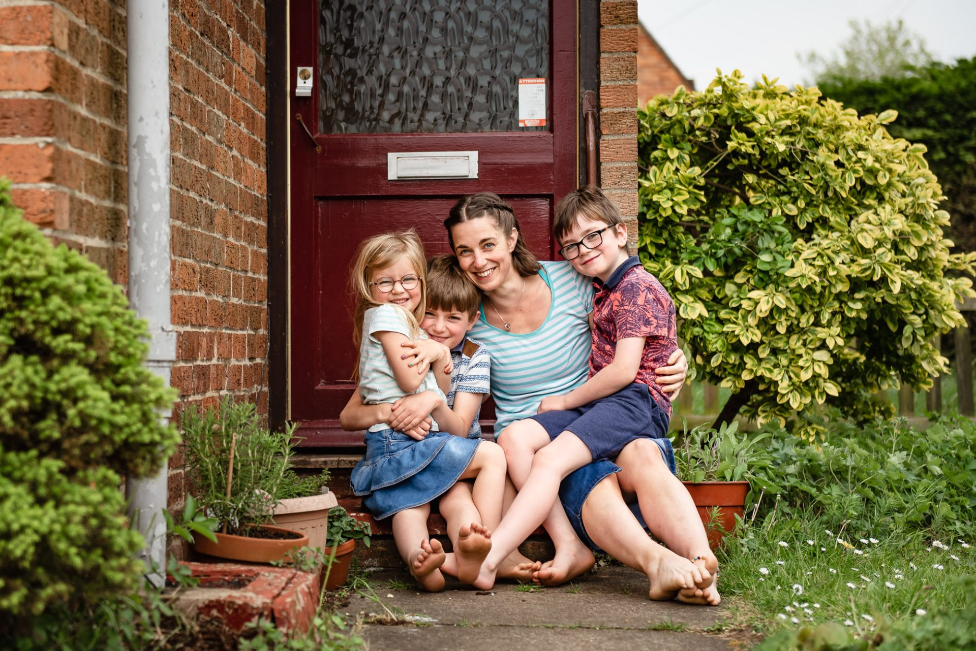 'On the Doorstep' - COVID-19 Photography Project
